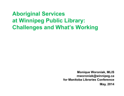 MLC Common Threads? Indigenous Library Services in Public and