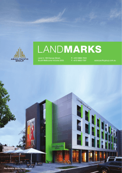 LANDMARKS - Asian Pacific Group