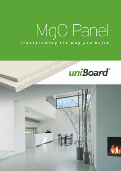 Download MgO Products Brochure - Uni