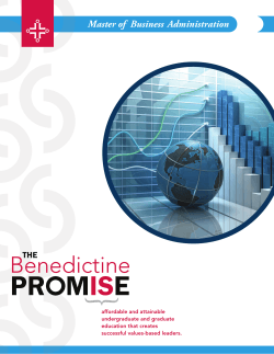 Program Brochure - Benedictine University