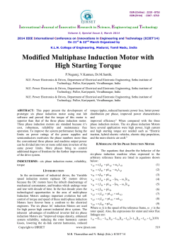 Modified Multiphase Induction Motor with High Starting
