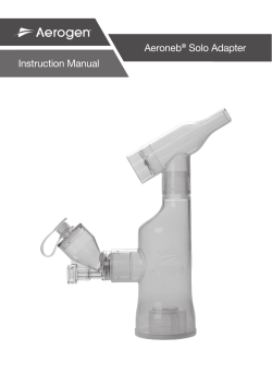 Aeroneb® Solo Instruction Manual USA