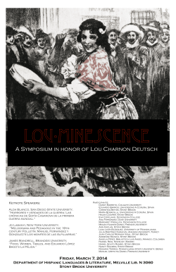 Lou.minescence 1 - Stony Brook University