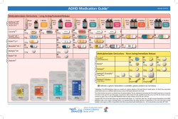 ADHD Medication Guide*