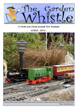 APRIL 2014 - Georgia Garden Railway Society