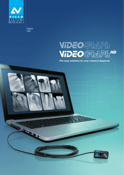 Download the Brochure - Villa Radiology Systems
