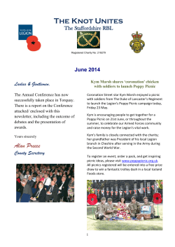 The Knot Unites - June 2014