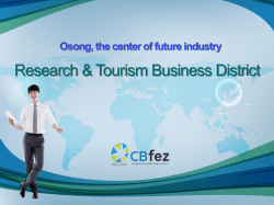 2. Dong-Je Lee, Chungbuk Free Economic Zone Authority