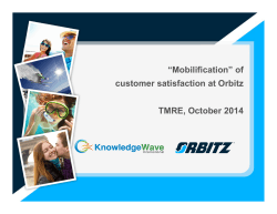OWW - KWI - mobilification of customer sat 10-17