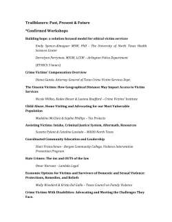 Checkout our list of confirmed workshops!