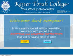 Your Weekly eNewsletter