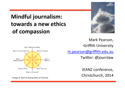 Mindful journalism: towards a new ethics of compassion