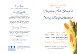 Spring Benefit Breakfast Neighbors Link Stamford