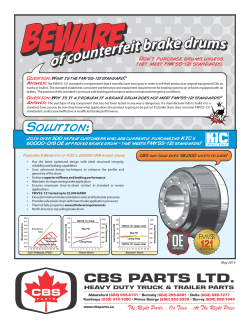 view flyer. - CBS Parts Ltd.