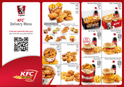 KFC® Delivery Menu - KFC Pretoria Delivery