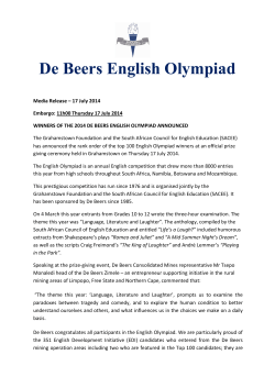 here - English Olympiad