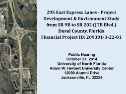 295 East Express Lanes - North Florida Express II