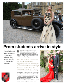 Prom Jun 2014.pub - Darlington School of Mathematics and Science