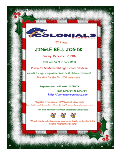 JINGLE BELL JOG 5K