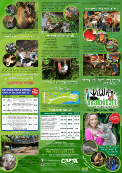Brochure - Wildlife Habitat