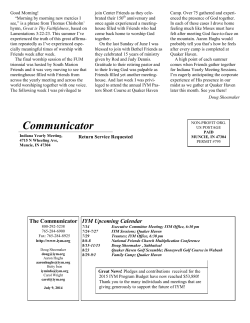 Communicator, July 9, 2014
