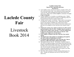 Livestock Book 2014 (PDF) - University of Missouri Extension