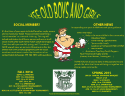 OldBoy Flyer - Arkansas Rugby