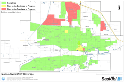View the Moose Jaw coverage map