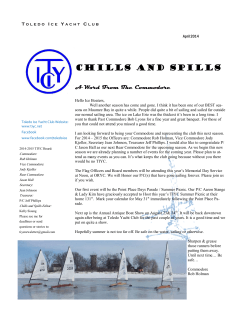 April 2014 - Toledo Ice Yacht Club