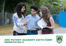 Download our Sixth Form Prospectus here