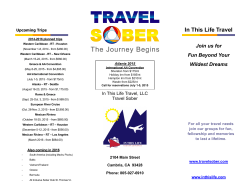 ITL brochure - Travel Sober