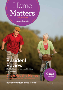 Home Matters - Autumn 2014