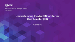Understanding the ArcGIS for Server Web Adaptor (IIS)