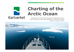 Charting of the Arctic Ocean