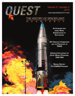 THE HISTORY OF SPACEFLIGHT