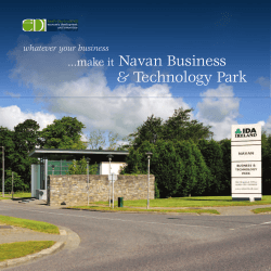 Navan Business and Technology Park Economic Opportunities