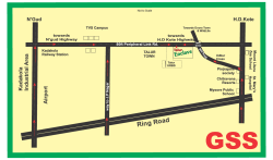 Route Map - GSS Properties Mysore