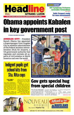 Gov gets special hug from special children