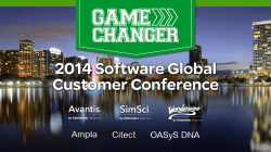 2014 Software Global Client Conference