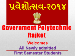 Report - Government Polytechnic, Rajkot