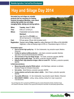 Hay and Silage Day 2014