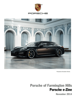 November 2014 - Porsche of Farmington Hills