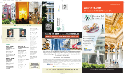 AWR pre brochure - Abdominal Wall Reconstruction Conference 2015
