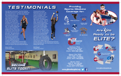 to view our Elite Performance Brochure