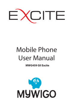 Mobile Phone User Manual