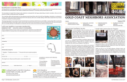 Summer Issue - Gold Coast Neighbors