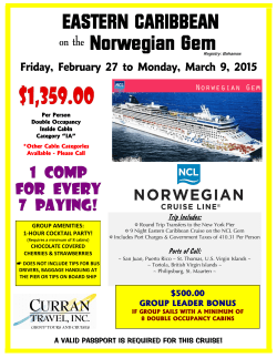 EASTERN CARIBBEAN Norwegian Gem