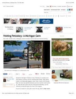 Visiting Petoskey: A Michigan Gem | The Daily Meal