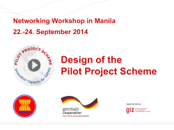 HERE. - PPS - Pilot Project Scheme