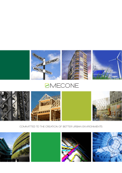 Mecone Planning Capabilities and Experience Summary